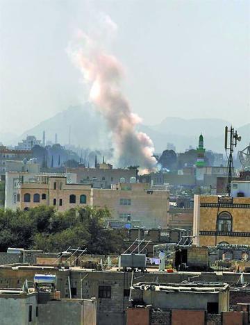 Bombardeos de coalición árabe en Yemen causan 44 fallecidos
