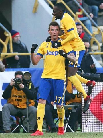 Juventus vence 3-0 a Bolonia en la Serie A