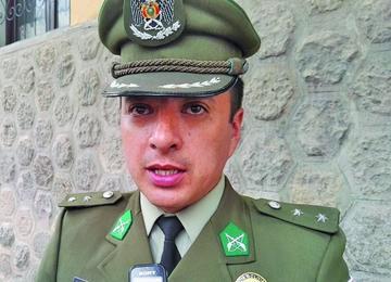 Claros jura como el jefe de seguridad de la Alcaldía