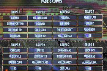 Bolivianos ya conocen a sus rivales en Libertadores y Sudamericana