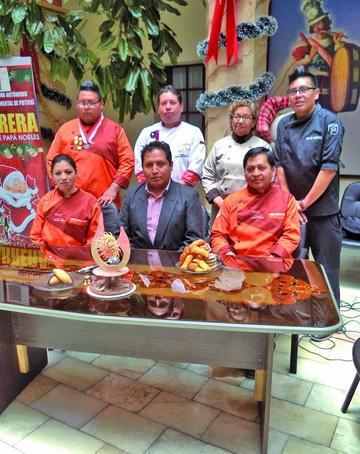 Expertos de Potosí hacen un festival gastronómico