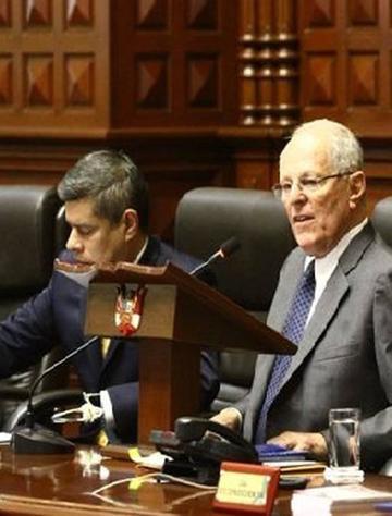Perú: Congreso rechaza pedido de destitución de Kuczynski