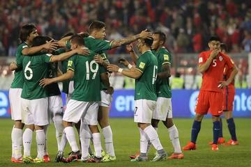 Bolivia se ubica en el puesto 49 del ranking de la FIFA