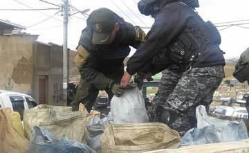 Afirman que juqueo y venta ilegal de minerales están penalizados