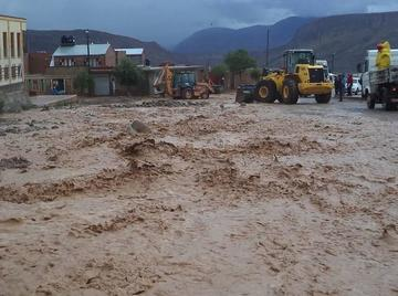 Comienzan a caer lluvias en el Departamento de Potosí