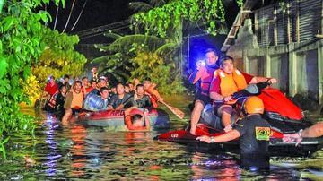 Tormenta tropical que azotó Filipinas deja 30 muertos