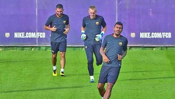 Paulinho es una pieza clave en Barcelona