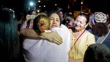 """ONG venezolana eleva a 44 los """"presos políticos"""" excarcelados en el país"""