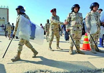Ejecutan a quince acusados de acciones terroristas en Egipto