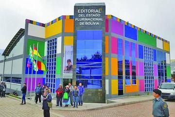 En El Alto abren imprenta estatal