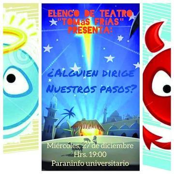Elenco Tomás Frías actúa hoy una comedia de teatro