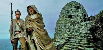 """Filme """"Star Wars"""" celebra la Navidad como el líder de la taquilla en EE.UU."""