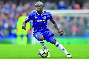 El jugador N'Golo Kanté es elegido el mejor jugador francés de 2017