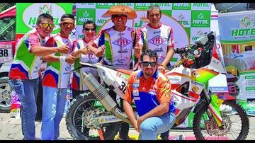 Fuentes quiere estar en el Top 20 del Dakar