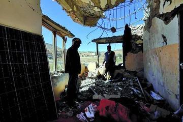 Varios ataques aéreos causan 21 personas muertas en Yemen