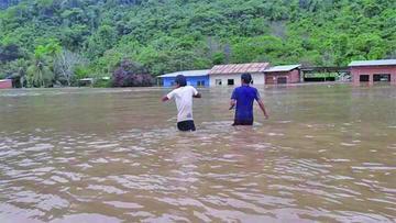 Reportan 1.200 familias afectadas por lluvias en 13 municipios del país