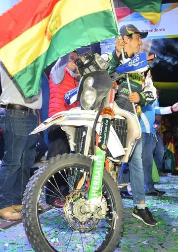 Lanzamiento oficial del Dakar se cumple hoy en Potosí