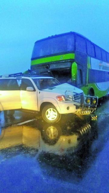 Un choque de vehículos en la vía a Uyuni causa cinco personas heridas