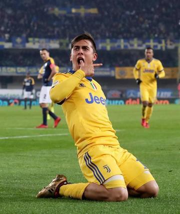 Juventus vence 3-1 a Hellas Verona