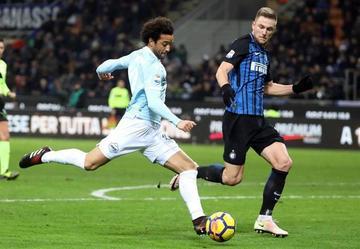 Inter y Lazio empatan y terminan su 2017 entre los punteros de la Liga Italiana