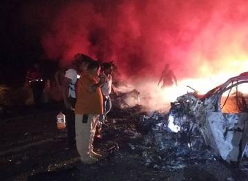 Al menos, 10 personas mueren en un accidente de carretera en México