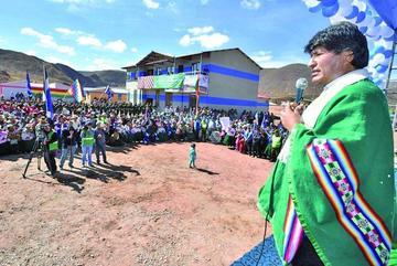 Morales asegura que Bolivia volverá al mar en este 2018