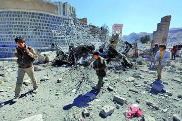 Varios ataques de la coalición en el oeste de Yemen dejan 28 muertos