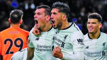 Liverpool sufre para vencer a Burnley