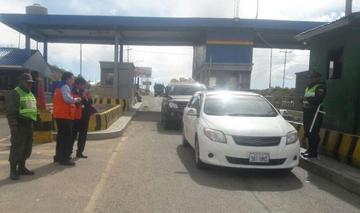 Tránsito inicia control del SOAT en trancas y hoy hará en la ciudad