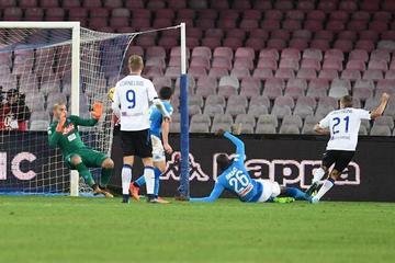Atalanta gana a Nápoles y pasa a semifinales de la Copa Italia