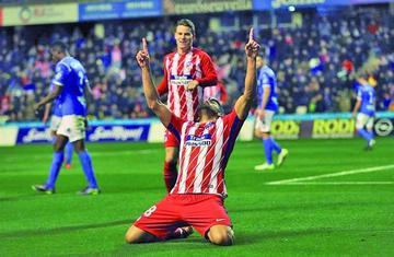 Atlético de Madrid golea 4-0 a Lleida