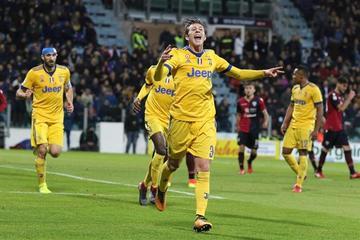 Juventus sufre para vencer a Cagliari