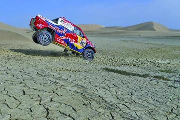 Al-Attiyah y Sunderland ganan la tercera etapa del Dakar