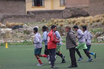Nacional cumple un trabajo físico en su segundo día de entrenamiento