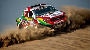 Bulacia logra su mejor registro en el rali Dakar