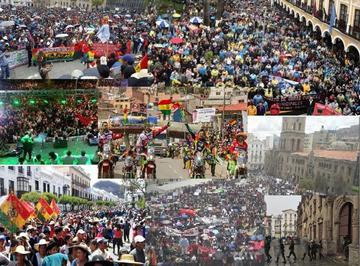 Disturbios y arrestados opacan el arribo del rali Dakar a Bolivia