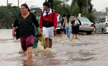 Pronostican más lluvias y alertan de posibles desbordes de 17 ríos