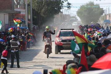 Uyuni vive por quinta ocasión la fiesta del Dakar 2018