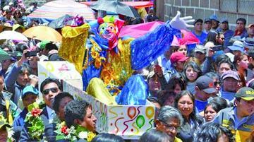 Reviven al Pepino y abre el carnaval