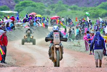 Suspenden la novena etapa de la competecia del Dakar