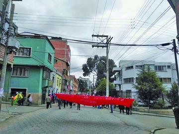 Trabajadores bloquearán las calles de la ciudad de Potosí