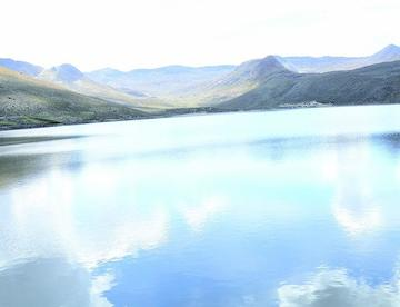 Volumen de agua en las lagunas va en ascenso