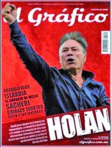 La popular revista deportiva argentina  El Gráfico cierra su edición impresa
