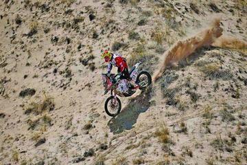 Daniel Nosiglia tuvo un mal día en la carrera