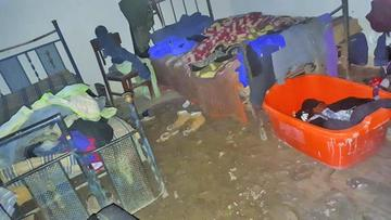 Las lluvias afectan a más de 180 familias en Potosí
