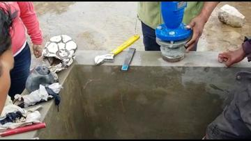 """Agua La Palca llega por bombeo a la ciudad pese a un """"sabotaje"""""""