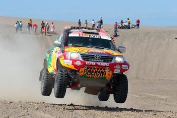 Rílver Vásquez abandona el Dakar por problemas mecánicos