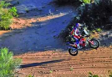 Matthias Walkner se acerca más a su primer título en motos