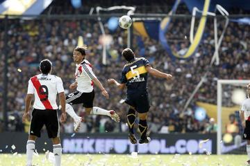 Boca y River juegan el primer superclásico de la temporada