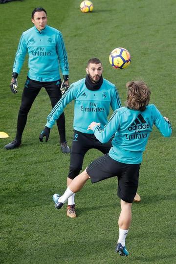 Real Madrid puede contar con su BBC ante Deportivo